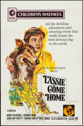 "Movie Posters:Adventure, Lassie Come Home & Others Lot (MGM, R-1971). One Sheets (3)(27"" X 41"") Children's Matinee Style. Adventure.. ... (Total: 3Items)"