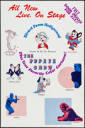 """Movie Posters:Animation, Popeye Stage Show & Others Lot (Fun Times Productions, ca.1972). One Sheets (5) (25"""" X 38"""" & 27"""" X 41""""). Animation.. ...(Total: 5 Items)"""
