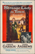 "Movie Posters:Western, Strange Lady in Town & Others Lot (Warner Brothers, 1955). One Sheets (3) (27"" X 41""). Western.. ... (Total: 3 Items)"
