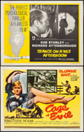 """Movie Posters:Crime, Cage of Evil & Others Lot (United Artists, 1960). Half Sheets (4) (22"""" X 28""""). Crime.. ... (Total: 4 Items)"""