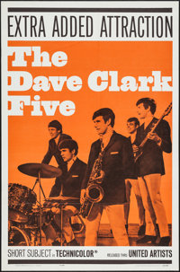 """The Dave Clark Five (United Artists, 1965). One Sheet (27"""" X 41""""), Photo (8"""" X 11""""), & Ad Ma..."""