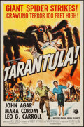 "Movie Posters:Science Fiction, Tarantula (Universal International, 1955). One Sheet (27"" X 41"").Science Fiction.. ..."