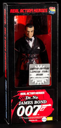 "Movie Posters:James Bond, James Bond in Dr. No (Medicom, 1998). Limited Edition Action Figure(6"" X 13.75"" X 2.5""). James Bond.. ..."