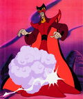 Animation Art:Production Cel, Disney's Aladdin the Series Jafar Production Cel (WaltDisney, 1994)....