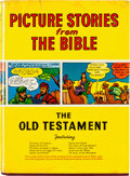 Golden Age (1938-1955):Religious, Picture Stories From the Bible The Old Testament Hardcover Book(Bible Pictures Inc. Ltd., 1943)....