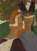 , Bob Thompson (1937-1966). Untitled, 1960. Oil on board. 11-7/8 x 9 inches (30.2 x 22.9 cm). PROPERTY FROM A DISTINGUIS...