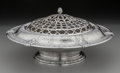 Silver Holloware, American:Center Pieces, A Gorham Florentine Florenz Pattern Silver Centerpiece withSilver-Plated Frog, Providence, Rhode Island, 1927. ...