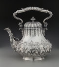 Silver Holloware, American:Tea Pots, A Grosjean & Woodward Silver Teapot for Tiffany & Co., NewYork, New York, circa 1852-1862. Marks: 514, TIFFANY & CO,ST...
