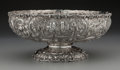 Silver Holloware, American:Bowls, An American Silver Castle Landscape Bowl, circa 1870.Marks: STERLING, THE LORING ANDREWS CO., CINCINNATI USA,...