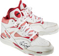 Basketball Collectibles:Others, Circa 1992-93 Dominique Wilkins Game Worn Atlanta Hawks Shoes. ...