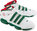 Basketball Collectibles:Others, 2010 Kevin Garnett Game Worn Boston Celtics Shoes with Malik Sealy & Kirby Puckett References. ...