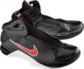 Basketball Collectibles:Others, 2008 LaMarcus Aldridge Game Worn Portland Trailblazers Shoes. ...