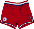 Basketball Collectibles:Others, 1990-91 Charles Barkley Game Worn Philadelphia 76ers Shorts. ...
