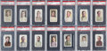 Baseball Cards:Lots, 1910-11 M116 Sporting Life PSA NM-MT 8 Collection (23 Different)....