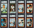 Baseball Cards:Lots, 1953 to 1955 Bowman Shoe Box Collection (950+). ...