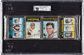 Baseball Cards:Unopened Packs/Display Boxes, 1971 Topps Baseball Unopened Rack Pack GAI Mint 9 With Palmer Showing On Back. ...