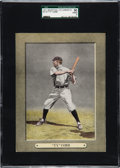 Baseball Cards:Singles (Pre-1930), 1911 M110 Sporting Life Cabinet Ty Cobb SGC 50 VG/EX 4 - Only OneNicer! ...