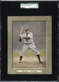 "Baseball Cards:Singles (Pre-1930), 1911 M110 Sporting Life Honus ""Hans"" Wagner SGC Authentic...."