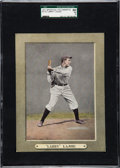 Baseball Cards:Singles (Pre-1930), 1911 M110 Sporting Life Cabinet Napoleon Lajoie SGC 60 EX 5 - Only One Higher. ...