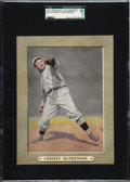 Baseball Cards:Singles (Pre-1930), 1911 M110 Sporting Life Christy Mathewson SGC 60 EX 5 - The HighestSGC Example! ...