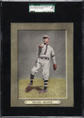 Baseball Cards:Singles (Pre-1930), 1911 M110 Sporting Life Frank Chance SGC 50 VG/EX 4 - Pop Two, OneHigher. ...