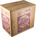 Baseball Cards:Unopened Packs/Display Boxes, 1983 Topps Baseball Unopened Case With Twenty 36-Count Wax Boxes!...