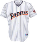 Baseball Collectibles:Uniforms, 1990's Tony Gwynn Game Worn San Diego Padres Jersey. ...