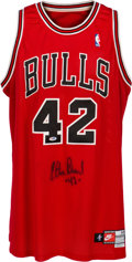 Basketball Collectibles:Uniforms, 1999-2000 Elton Brand Game Worn Chicago Bulls Uniform Purchasedfrom Bulls. ...