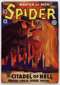 Pulps:Hero, The Spider - March 1934 (Popular) Condition: VG+....