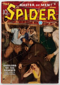 Pulps:Hero, The Spider - October 1935 (Popular) Condition: FN-....