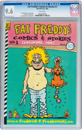 Modern Age (1980-Present):Alternative/Underground, Fat Freddy's Comics & Stories #1 (Rip Off Press, 1983) CGC NM+9.6 White pages....