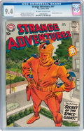 Silver Age (1956-1969):Science Fiction, Strange Adventures #97 (DC, 1958) CGC NM 9.4 Off-white to whitepages....
