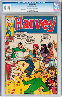 Harvey #1 (Marvel, 1970) CGC NM 9.4 Off-white to white pages