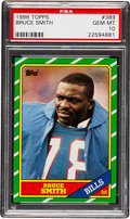 Football Cards:Singles (1970-Now), 1986 Topps Bruce Smith #389 PSA Gem Mint 10....