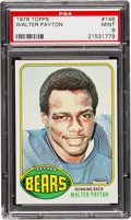 Football Cards:Singles (1970-Now), 1976 Topps Walter Payton #148 PSA Mint 9....