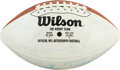 Football Collectibles:Balls, 1972 Miami Dolphins Team Signed Football - Undefeated Championship Season!...