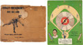 Baseball Collectibles:Others, Circa 1914 Christy Mathewson Baseball Board Game....