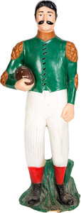 Football Collectibles:Others, Early 1900s Football Statue - Issued Circa 1950s/60s....