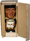 Baseball Collectibles:Others, 1962 Roberto Clemente Nodder Bobble Head Doll with Box....