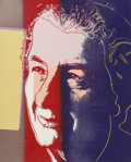 Post-War & Contemporary:Pop, Andy Warhol (American, 1928-1987). Golda Meir (from TenPortraits of Jews of the Twentieth Century), 1980. Screenpri...