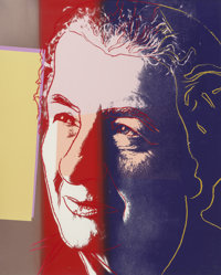 Andy Warhol (American, 1928-1987) Golda Meir (from Ten Portraits of Jews of the Twentieth Century