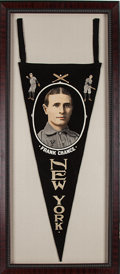 Baseball Collectibles:Others, Circa 1913 Frank Chance New York Yankees Pennant....