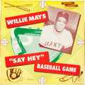 "Baseball Collectibles:Others, 1958 Willie Mays ""Say Hey"" Baseball Board Game - Brand New!...."