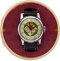 Baseball Collectibles:Others, 1948 Babe Ruth Exacta Wrist Watch New in Baseball Case....