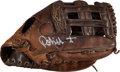 Baseball Collectibles:Others, 1980 Robin Yount Game Used Fielder's Glove....