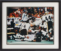 Football Collectibles:Photos, 1993 Walter Payton Signed Oversized Photograph....