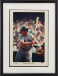Baseball Collectibles:Photos, Early 1990's Mickey Mantle Signed UDA Large Photograph. ...