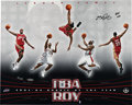 Basketball Collectibles:Photos, 2004 LeBron James Signed UDA Rookie of the Year Photograph....