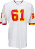 Football Collectibles:Uniforms, Circa 1974 Curly Culp Game Worn Kansas City Chiefs Jersey - Kindler Collection....
