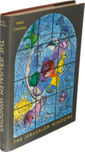 Books:Art & Architecture, [Marc Chagall, artist]. The Jerusalem Windows. New York:George Braziller, [1962]. First American edition. ...